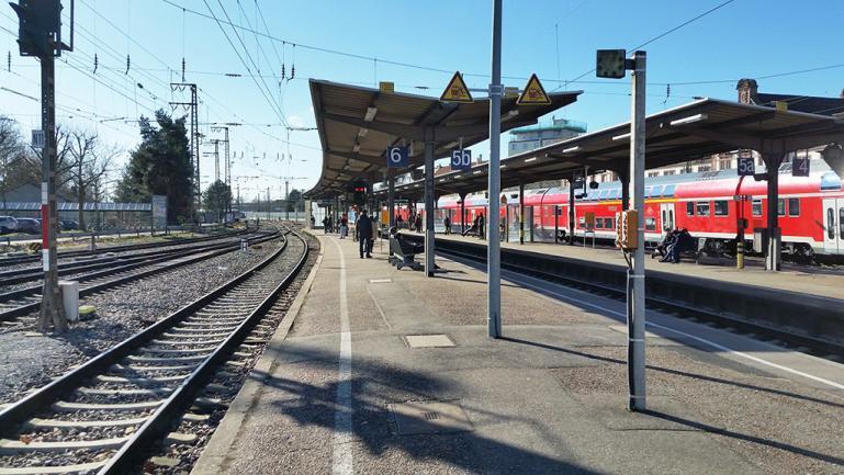 Bahnhof Rastatt
