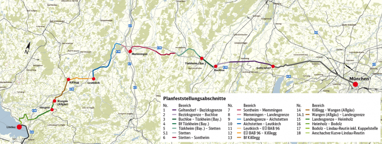 Bauprojekt München Lindau Grenze Da Bauinfoportal Der